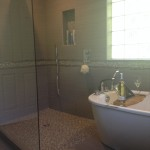 bathroom remodeling, open shower