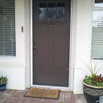 Fiberglass Door and Invisible Screen