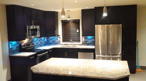 new window, custom cabinets, beautiful kitchen, door and window replacement, home renovation, house remodel, kitchen remodel