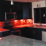 kitchen remodeling,  Kitchen renovation. Tile backsplash. undercabinet lighting. kitchen window. stainless steel appliances. granite countertop. Kitchen island. kitchen remodel